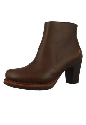 Art Damen Leder Stiefelette Ankle Boot Gran Via Brown Braun 1142 – Bild 2