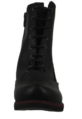 Art Damen Leder Stiefelette Ankle Boot Gran Via Black Schwarz 1146 – Bild 5