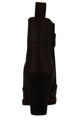 Art Damen Leder Stiefelette Ankle Boot Gran Via Brown Braun 1146 – Bild 4