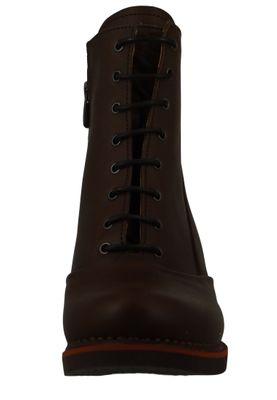 Art Damen Leder Stiefelette Ankle Boot Gran Via Brown Braun 1146 – Bild 6