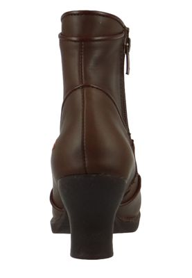 Art Damen Leder Stiefelette Ankle Boot Harlem Brown Braun 0945 – Bild 4