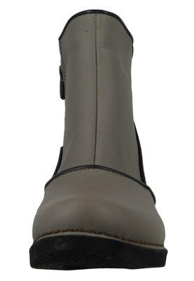 Art Damen Leder Stiefelette Ankle Boot Harlem Grey Grau 0945 – Bild 5