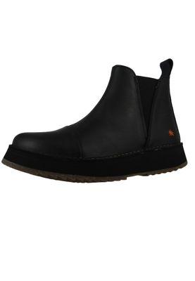 Art Damen Leder Stiefelette Ankle Boot Orly Black Schwarz 1601 – Bild 1