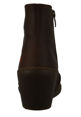 Art Damen Keil-Stiefelette Ankle Boot Rotterdam Brown Braun 1561 – Bild 4