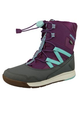 Merrell Snow Crush Waterproof MK159174 Kids Kinderstiefel Purple Turquiose Lila – Bild 2
