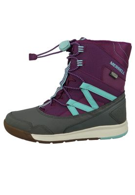 Merrell Snow Crush Waterproof MK159174 Kids Kinderstiefel Purple Turquiose Lila – Bild 3