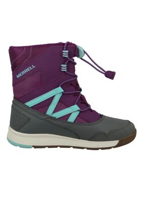 Merrell Snow Crush Waterproof MK159174 Kids Kinderstiefel Purple Turquiose Lila – Bild 5