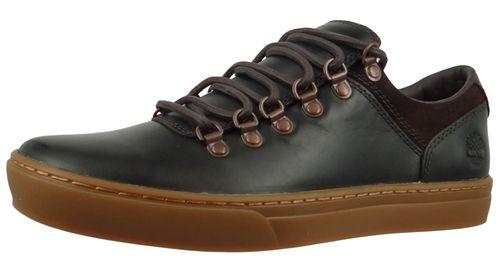 Timberland A26UA Adventure 2.0 Cupsole Alpine Oxford Herren Leder Sneaker Dark Brown Full-Grain Dunkelbraun – Bild 1