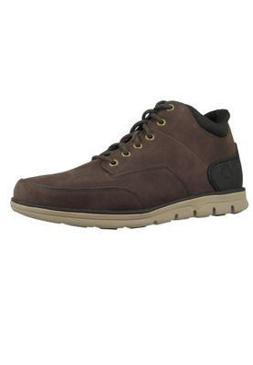 Timberland A27KE Bradstreet Chukka Molded Herren Boots Schnürschuhe Dark Brown Nubuck Braun – Bild 1