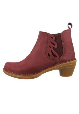 El Naturalista Shoes Women's Ankle Boots N5328 Aqua Black Black – Bild 2