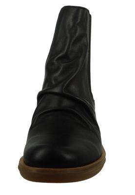 El Naturalista Damen Leder Stiefelette Aqua Black Schwarz N5355 – Bild 5