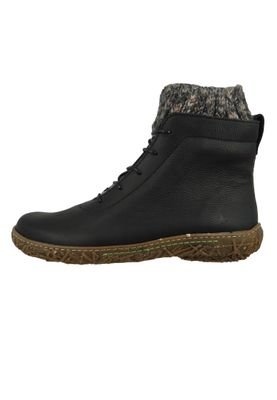 El Naturalista Shoes Women Wedge Ankle Boots N5133 MYTH YGGDRASIL Black Black – Bild 3