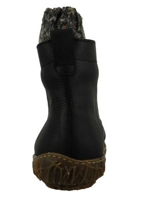 El Naturalista Shoes Women Wedge Ankle Boots N5133 MYTH YGGDRASIL Black Black – Bild 4