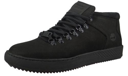 Timberland A1OVL Men's Black Nubuck Black Adventure 2.0 Cupsole Alpine Chukka Sneaker – Bild 1