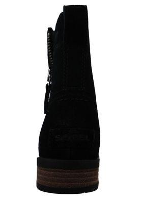 Sorel Explorer 1964 NL3041-010 Women's Winter Ankle Boot Black Sea Salt Black – Bild 6