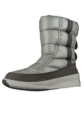 Sorel Damen Winterstiefel Out´n About Puffy Mid Pure Silver Silber NL3395-034 – Bild 1