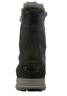 Sorel Damen Winterstiefel Boot Gefüttert Explorer Joan Quarry Black Grau NL3039-052 – Bild 3