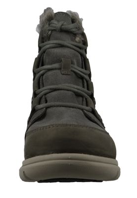 Sorel Damen Winterstiefel Boot Gefüttert Explorer Joan Quarry Black Grau NL3039-052 – Bild 5
