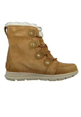 Sorel Damen Winterstiefel Boot Gefüttert Explorer Joan Camel Brown Braun NL3039-224 – Bild 4