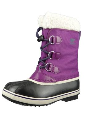 Sorel Yoot Pac Nylon NY1879-465 Kids Winter Boots Lined Collegiate Navy Super Blue Blue – Bild 1