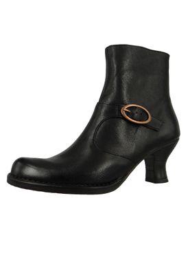 Neosens Damen Leder Stiefelette Ankle Boot Rococo Black Schwarz S-649 – Bild 1
