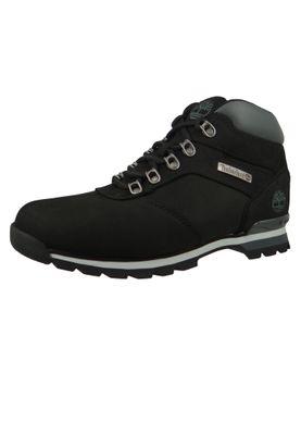 Timberland 6161R Splitrock 2 Hiker Herren Leder Wanderschuhe Black Nubuck Schwarz – Bild 1