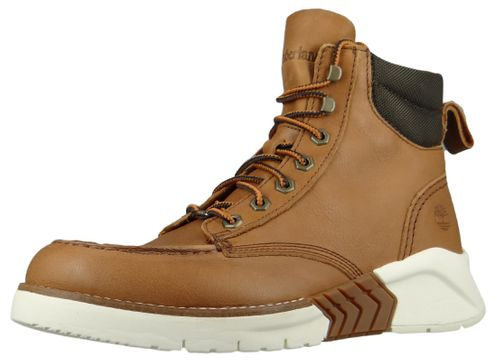 Timberland A2C4G M.T.C.R. Moc Toe Boot Herren Schnürstiefel Medium Brown Full-Grain Braun – Bild 1
