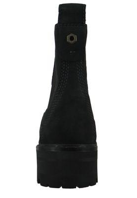 Timberland A1J66 Courmayeur Valley Chelsea Boot Damen Leder Stiefelette Black Nubuck Schwarz – Bild 3
