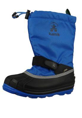 Kamik NK4805 Waterbug8G Kinder Winterstiefel Gore-Tex Gefüttert Strong Blue Blau – Bild 1
