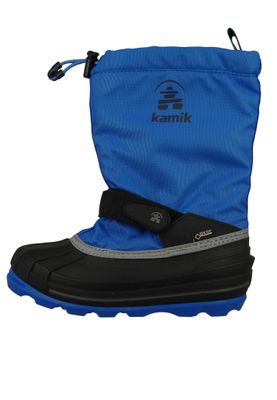 Kamik NK4805 Waterbug8G Kinder Winterstiefel Gore-Tex Gefüttert Strong Blue Blau – Bild 2