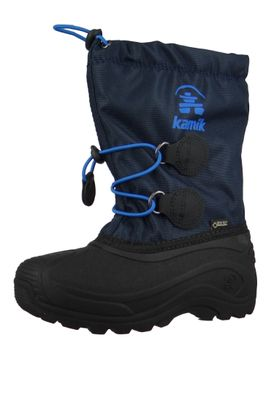 Kamik Kids Winter Boots Waterbug8G Gore-Tex Lined Boots NF4805 Black Black – Bild 1