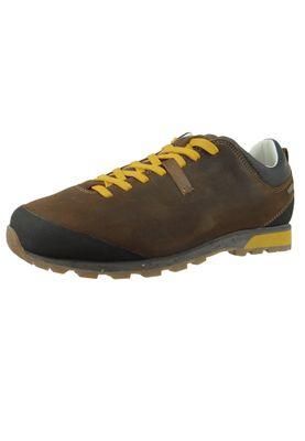AKU 508.3-305 Bellamont III Suede GTX Herren Wanderschuhe Trekkingschuhe Dark Brown-Yellow Dunkelbraun – Bild 1