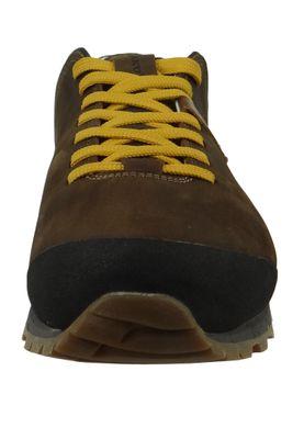 AKU 508.3-305 Bellamont III Suede GTX Herren Wanderschuhe Trekkingschuhe Dark Brown-Yellow Dunkelbraun – Bild 5