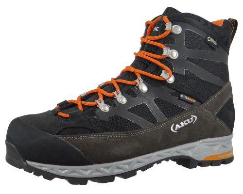 AKU 844-108 Trekker Pro GTX Herren Wanderschuhe Trekkingschuhe Black-Orange Schwarz – Bild 1