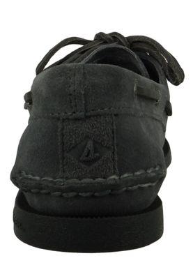 Sperry STS19438 A/O 2-Eye Suede Herren Leder Bootsschuhe Grey Grau – Bild 3