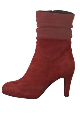 Marco Tozzi Damen High Heel Stiefelette Ankle Boot Red Rot 2-2-25326-23 500  – Bild 3