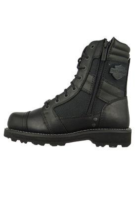 Harley Davidson D93370 Boxbury Herren Biker Boots Stiefelette Black Schwarz – Bild 2