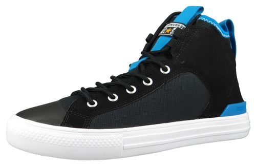 Converse Chucks 165340C  Chuck Taylor All Star Ultra Cons Force Mid Black Imperial Blue – Bild 1
