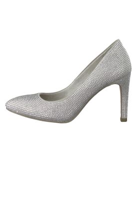 Tamaris 1-22404-23 985 Damen High-Heel Pumps Silver Glam Silber TOUCH-IT Sohle – Bild 3