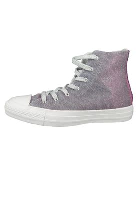 Converse Chucks Purple 564420C Chuck Taylor All Star - HI Indigo Fog White White – Bild 3
