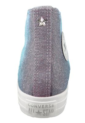 Converse Chucks Purple 564420C Chuck Taylor All Star - HI Indigo Fog White White – Bild 6