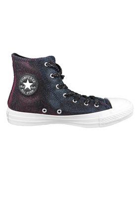 Converse Chucks Grau 564911C Chuck Taylor All Star Starware HI Laser Black Pink Pure Silver – Bild 6