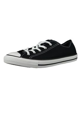 Converse Chucks 564982C Schwarz Chuck Taylor All Star Dainty GS Basic Black White Black – Bild 1