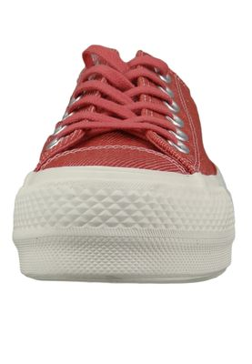 Converse Chucks Plateau Pink 564995C  Chuck Taylor All Star Rainbow - OX Coastal Pink Light Redwood – Bild 5