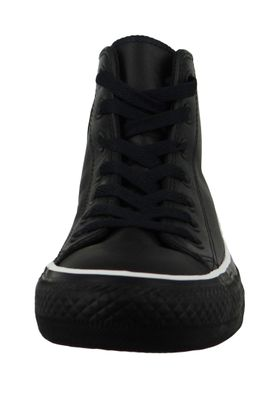 Converse Chucks Schwarz 564948C  Chuck Taylor All Star Mission-V HI Black White Black – Bild 5