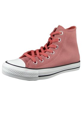 Converse Chucks Rot 564962C Chuck Taylor All Star Retrograde HI Light Redwood Habanero Red – Bild 1