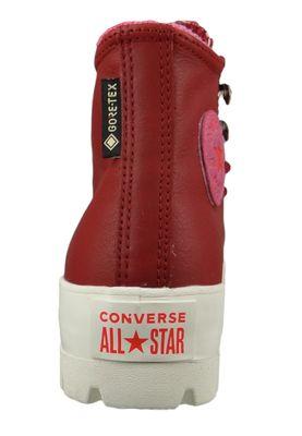 Converse Chucks Weinrot 565007C Chuck Taylor All Star Lugged Winter Retrogade HI - Back Alley Brick Habanero – Bild 3