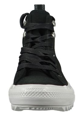 Converse Chucks Schwarz 565236C Chuck Taylor All Star Hiker Final Frontier HI - Black White Black – Bild 5