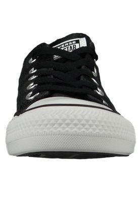 Converse Chucks Schwarz 565437C Chuck Taylor All Star Glam Dunk OX Black White Black – Bild 4