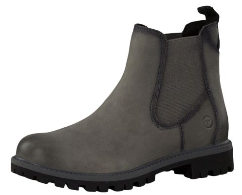 Tamaris 1-25401-21 214 Women's Anthracite Gray Ankle Boots Chelsea Boots with TOUCH-IT sole – Bild 1